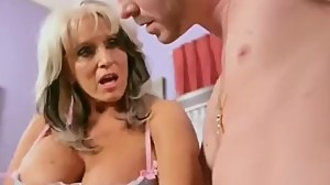Granny Fucked and Creampie