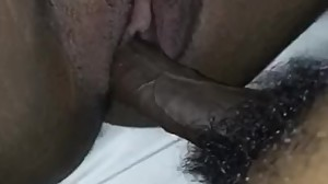 Close Up Of Me Diving In My Wifes Pussy