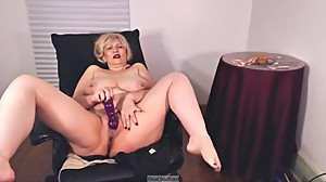 Dildo Riding, Cumming before bedtime,..