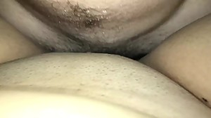 Thick Latina gets cream pie