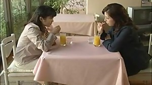 Japanese Lesbian Threesome [Love Story..
