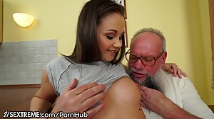 21Sextreme Teen Brings Grandpa Used..