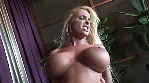 CHEATING BLONDE MOM HOLLY HALSTON RIDES..