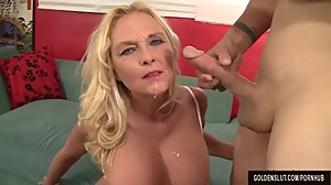 Mature Blonde Sara Skippers Loves to..