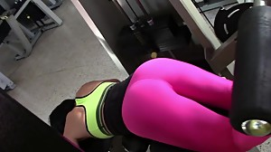 yes!!! fitness hot ASS hot CAMELTOE 88