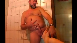 Sex in the bathroom- cut 2 (#old man,..