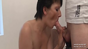Amateur squirt french mature ass pounded..