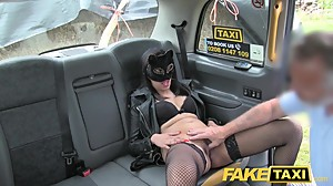 Fake Taxi Pussy cat role playing fantasy..
