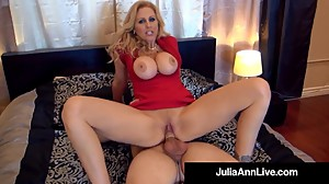 Elegant Milf Julia Ann Gets 2 Cocks In..