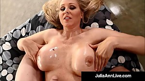 Busty Blonde Milf Julia Ann Loves Hot..