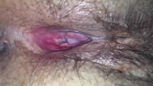 Mature Amateur Hairy Pussy extreme close..