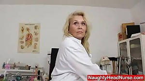 Blond-haired curvicious dame fuck hole..