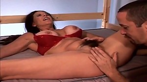 MILFs hairy pussy gets fucked