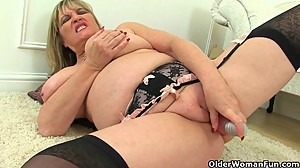 British milfs Alisha Rydes and Amy love..