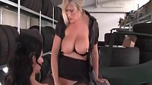 I am pierced MILF Marina with heavy..