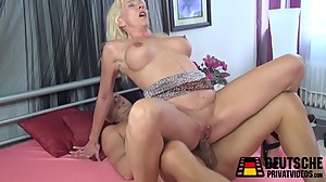 Blonde Mature Pussy