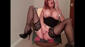 My MILF Exposed - hot mom in stockings..