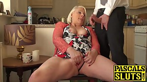 British mature blonde granny Carol..