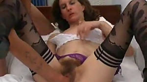skinny french hairy mature deeply fisted..