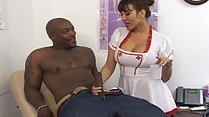 Busty Asian Nurse Needs Monster Black..