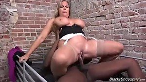 Amber Lynn- Horny Lawyer Gets The BBC..