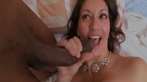 Hot Mature Cougar Dicked By BBC