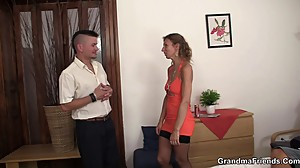 Hot threesome with a stranger