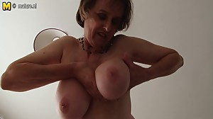 Amateur British mature woman with..