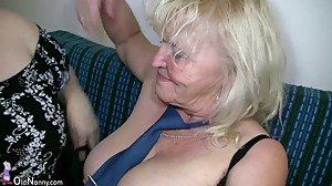 OldNanny Mature with big boobs..