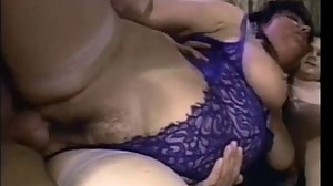 Cuckold granny MILF double teamed in her..
