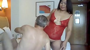 Amateur Mature Asian gets pussy licked