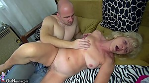 OldNanny Old mature whipped and fucked..